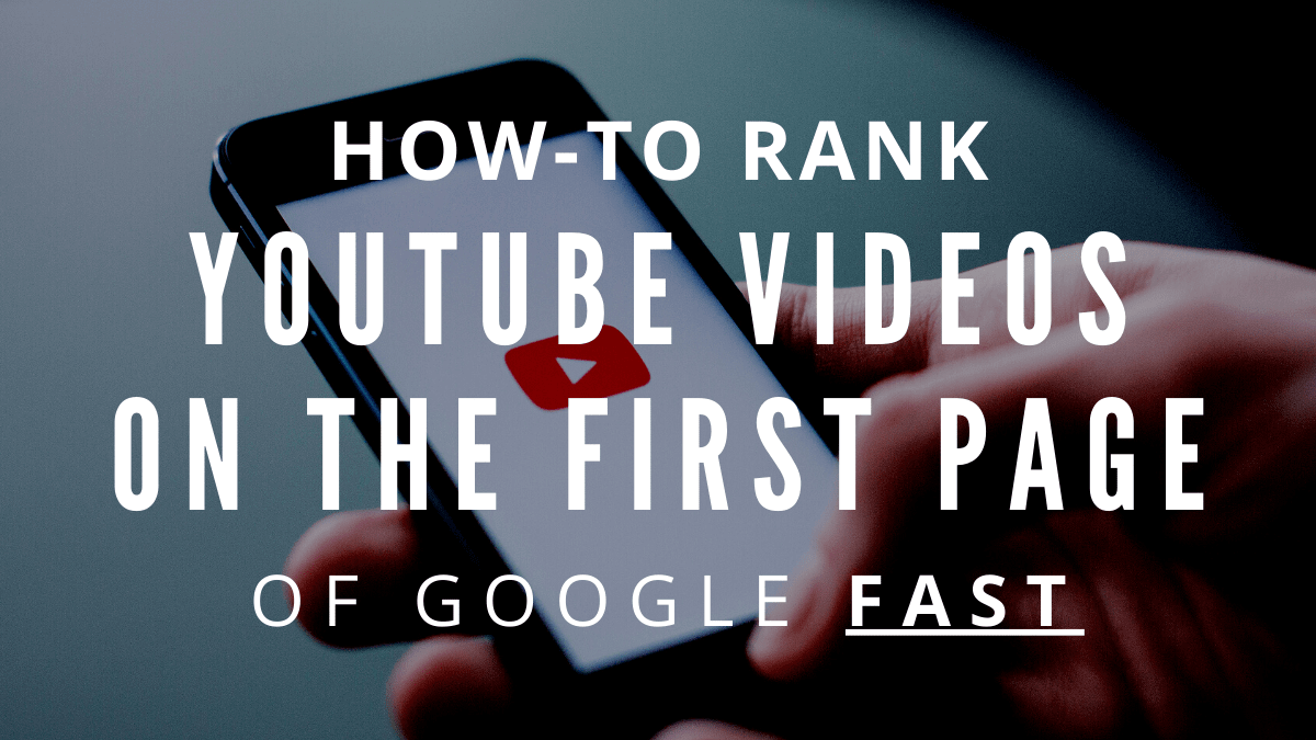 How To Get Youtube Video Results In Google Search